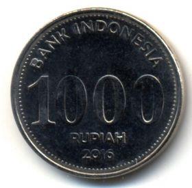 Индонезия 1000 рупий 2016