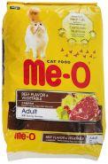 """Me-O Сухой корм для кошек """"Говядина и овощи"""" 450г"""