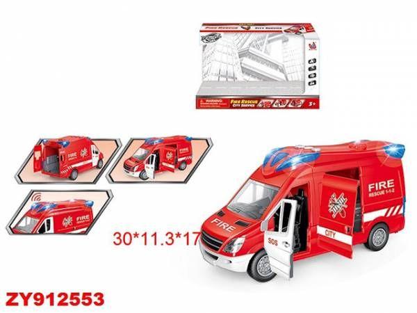 Машина 666-11P Пожарная