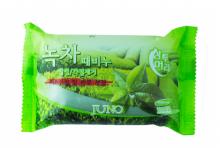 """Мыло для рук и тела """"Juno"""" с экстрактом зеленого чая, 150 г"""