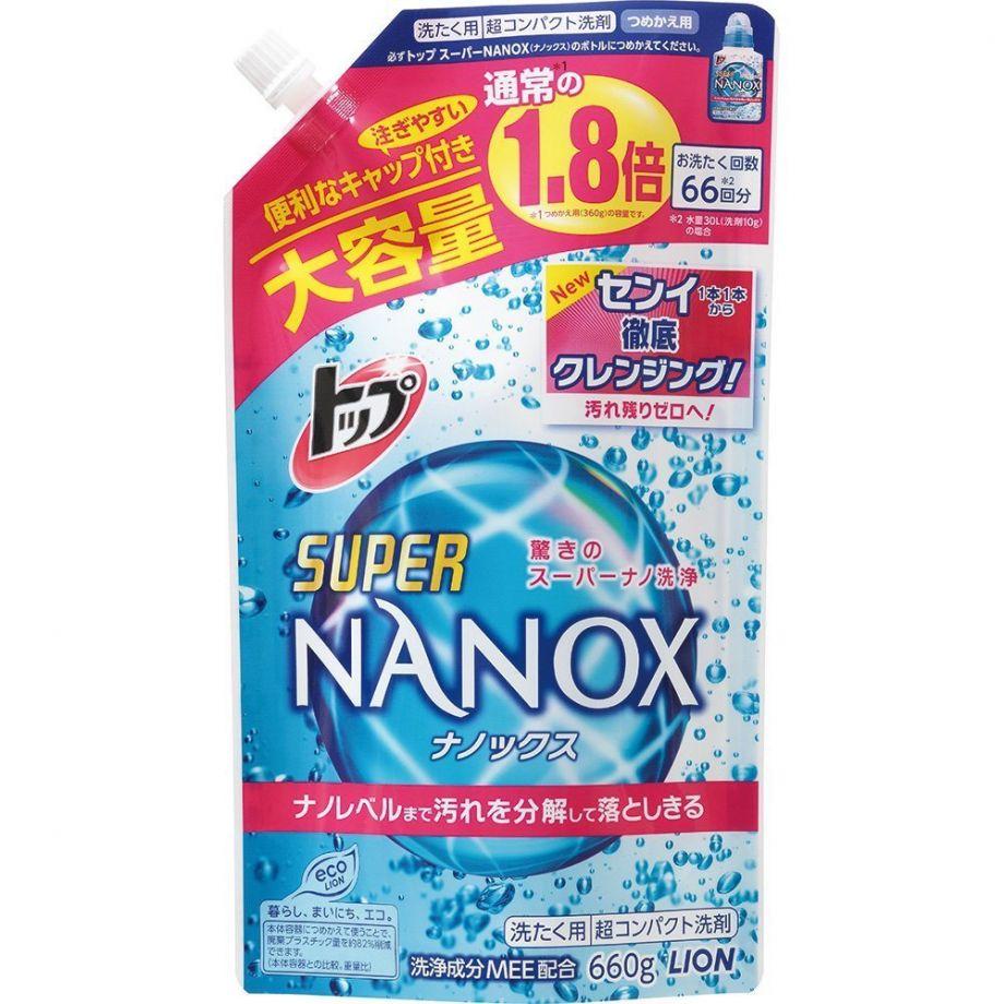 Lion Top Super Nanox Жидкое средство для стирки 660 гр