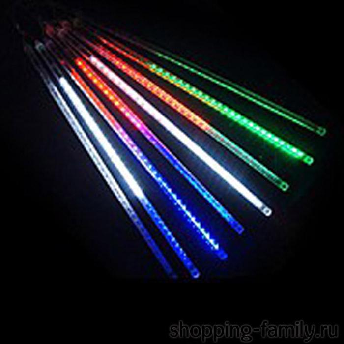 """Светодиодная гирлянда """"Тающие сосульки"""", 8 шт., 50 см., Цвет Разноцветный"""