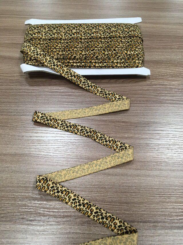 ЛеопардОкантовочная резинка-бейка