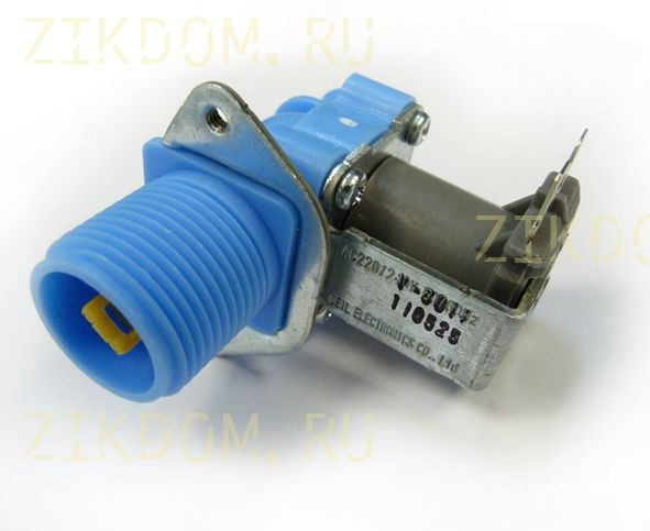 Клапан стиральной машины одинарный прямой Samsung DC62-30310D