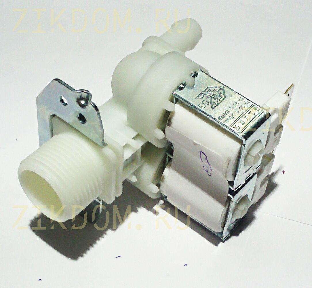 Клапан стиральной машины двойной прямой универсальный Eltek