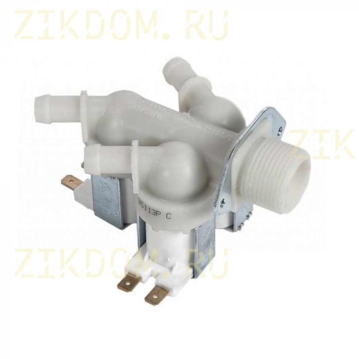 Клапан стиральной машины тройной прямой Samsung DC62-00233D