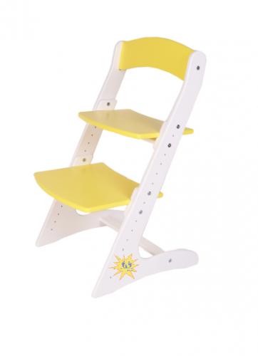 Детский растущий стул. Комбинированные цвета.