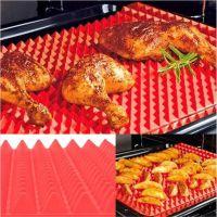 Силиконовый коврик PYRAMID PAN (ПИРАМИД ПАН), цвет красный (6)