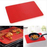 Силиконовый коврик PYRAMID PAN (ПИРАМИД ПАН), цвет красный (3)