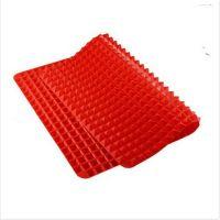 Силиконовый коврик PYRAMID PAN (ПИРАМИД ПАН), цвет красный (4)