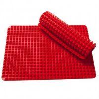 Силиконовый коврик PYRAMID PAN (ПИРАМИД ПАН), цвет красный (2)