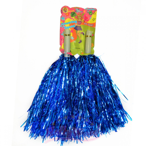 Помпоны для черлидинга и танцев Pom Poms, цвет - синий.