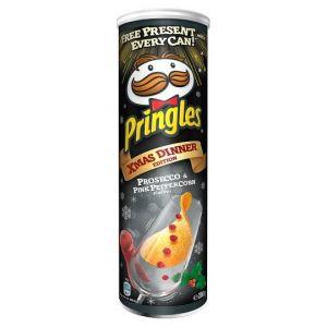 Чипсы Pringles Prosecco & Pink Peppercorn Принглс со вкусом просекко и красного перца 165