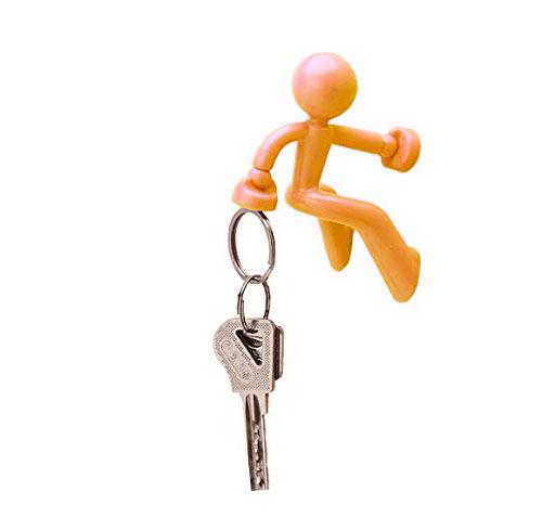 Магнитный Держатель Ключей The Magnetic Man, Цвет Желтый