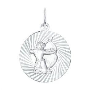 Подвеска «Знак зодиака Стрелец» из серебра 94030890 SOKOLOV