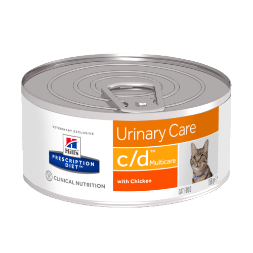 "Консервы Hill's Multicare c/d Feline with Chicken для кошек ""Профилактика МКБ"" 156 гр"