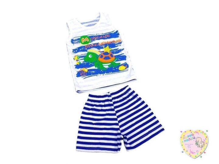 Костюм: майка, шорты kA-KS049-SUk(t) (100% хлопок)