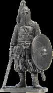 Воин княжеской дружины. Русь, 10 век (олово)