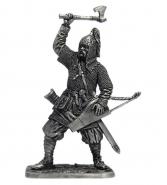 Княжеский дружинник. Русь, кон. 10 века (олово)