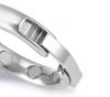 Кольцо металлическое эрекционное с магнитными вставками. 3