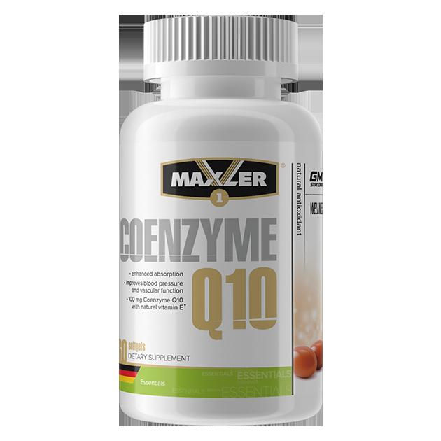 Coenzyme Q10 от Maxler 120 капсул