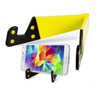 Раскладной держатель для смартфона и планшета, Цвет: Жёлтый