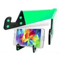 Раскладной держатель для смартфона и планшета, Цвет: Зелёный