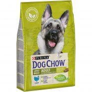 DOG CHOW Adult Large Breed Корм для взрослых собак крупных пород с индейкой (2,5 кг)