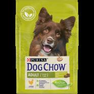 DOG CHOW Adult Chicken Корм для взрослых собак с курицей (2,5 кг)