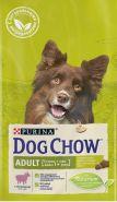 DOG CHOW Adult Lamb Корм для взрослых собак с ягненком (2,5 кг)