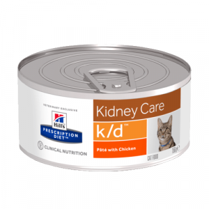 "Консервы Hill's prescription Diet  k/d Feline with Chicken для кошек ""Лечение почек"" 156 гр"