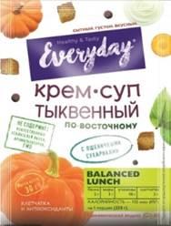 EVERYDAY Крем-суп пряный тыквенный по-восточному 26 г