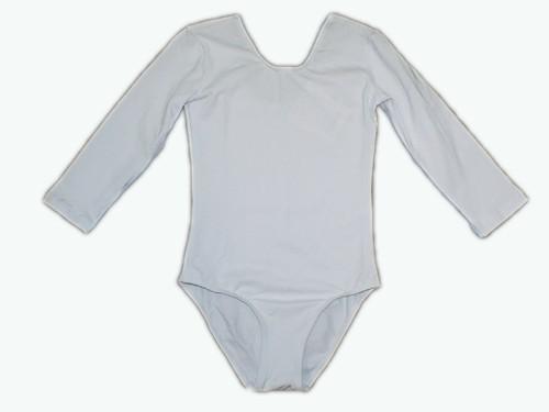 Костюм гимнастический детский, Классика, х/б, Размер 32. Цвет белый., артикул 08103