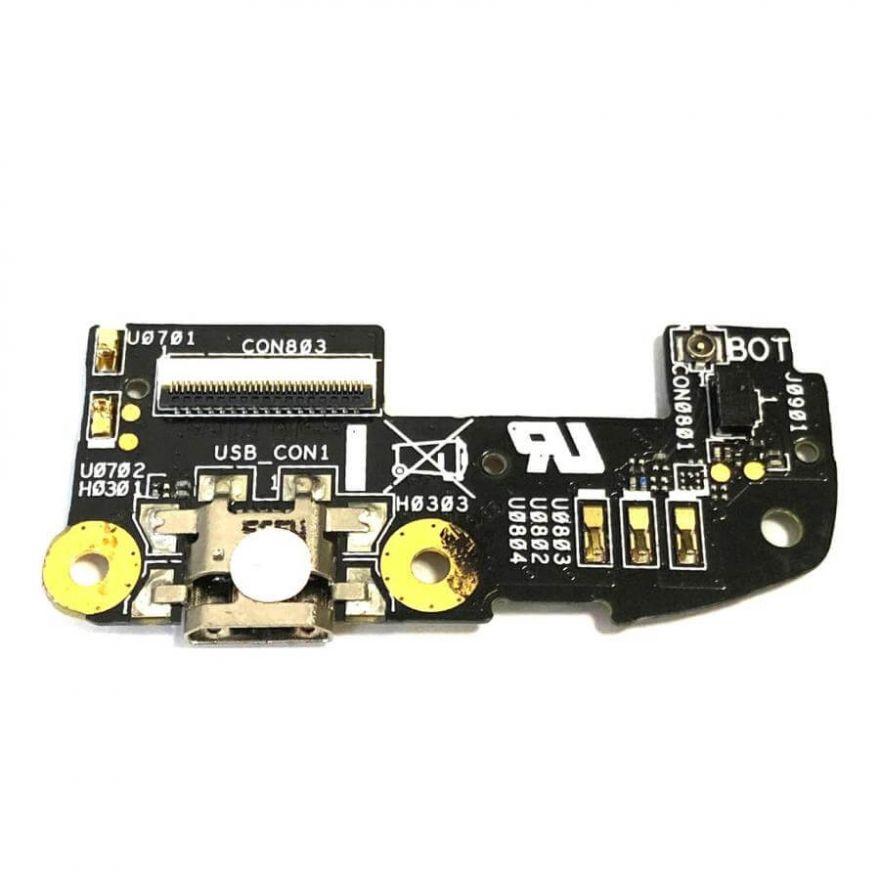 Нижняя плата с разъемом зарядки и микрофоном для Asus Zenfone 2 5.5'' (ZE550ML, ZE551ML)