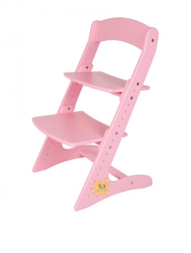 Детский растущий стул. Светлые расцветки.