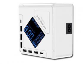 Зарядная станция 2 в 1 (2 type-c + 6 usb)