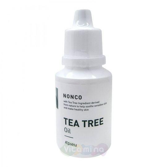 A'Pieu Успокаивающая сыворотка для проблемной кожи с маслом чайного дерева Nonco Tea Tree Oil, 30 мл