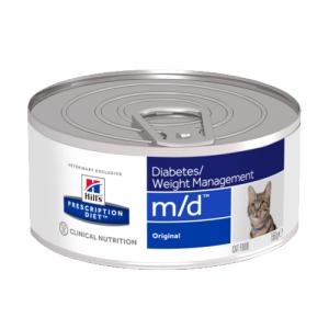 Консервы Hill's prescription Diet m/d Diabetes/Weight Managemen для кошек при сахарном диабете 156 гр