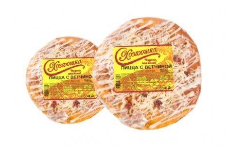 Пицца с ветчиной 150г Хозяюшка