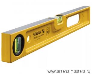 Уровень строительный литой STABILA тип 82S 40см 1 вертикальный, 1 горизонтальный арт.02593