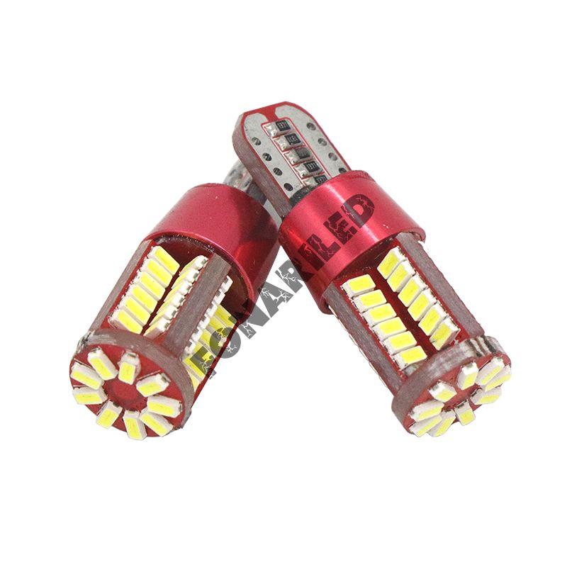 Светодиодные лампочки T10B-W5W-57-140