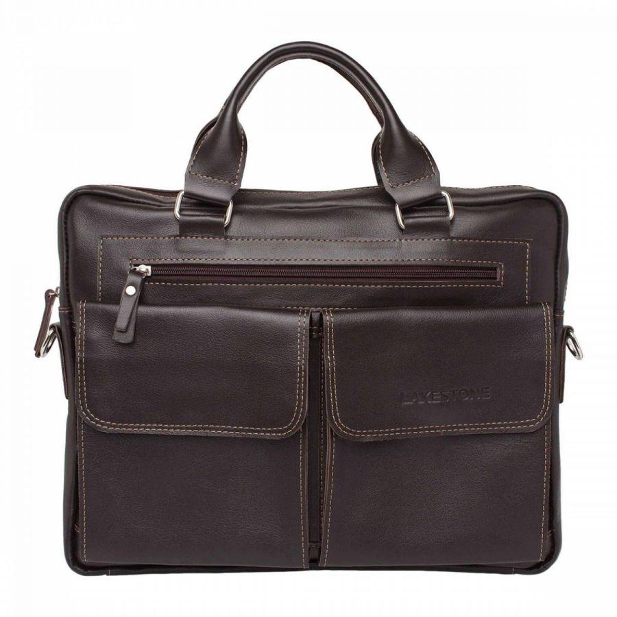 Деловая сумка Lakestone Holford Brown
