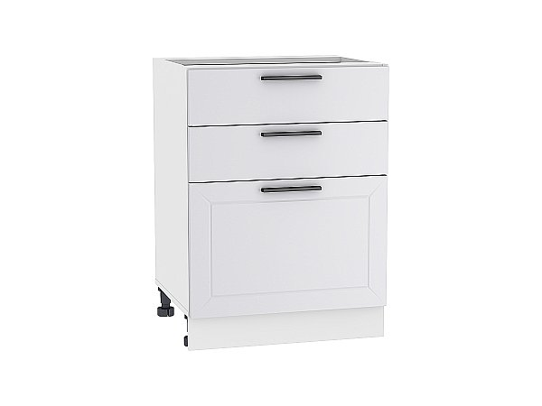 Шкаф нижний Глетчер Н603 (Гейнсборо Силк)