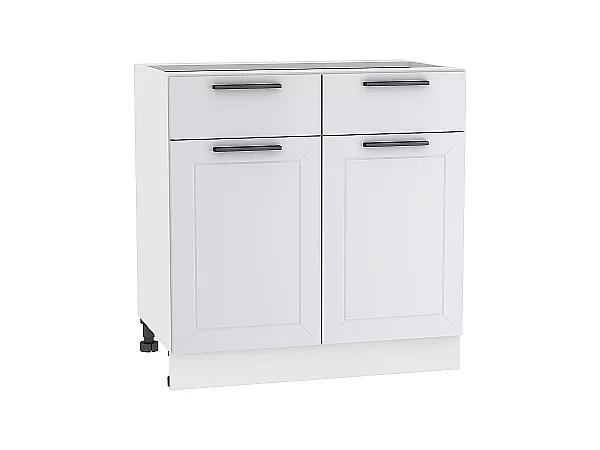 Шкаф нижний Глетчер Н801 (Гейнсборо Силк)