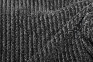 """Трикотаж велюр """"вязанка"""" VT-10241/C#2 серый"""