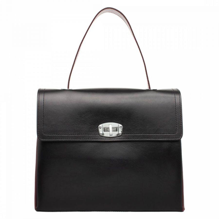 Женская сумка Lakestone Astrey Black/Burgundy