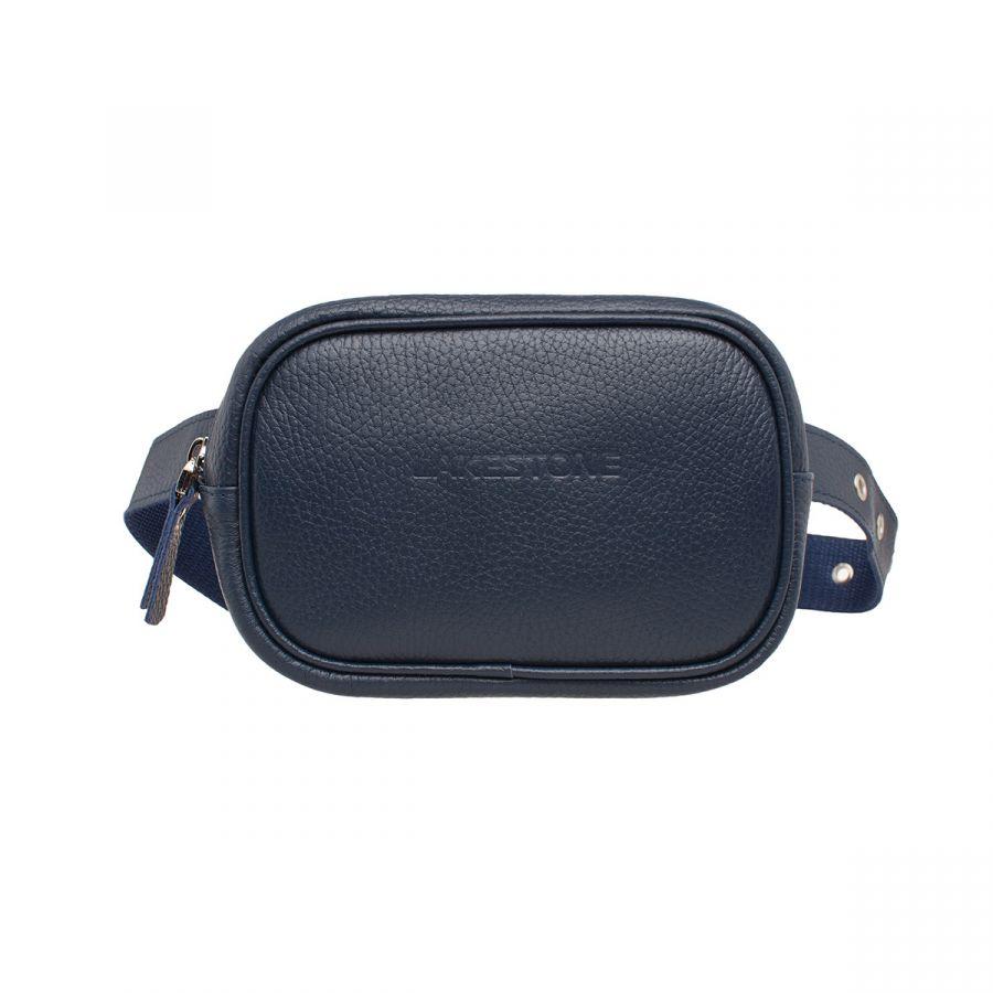 Женская сумка Lakestone на пояс Alma Dark Blue