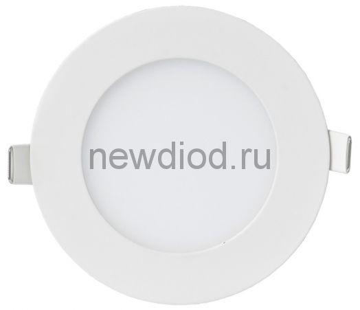 Панель сд круглая RLP-VC 6Вт 230В 6500 420Лм 95мм белая IP40 IN HOME