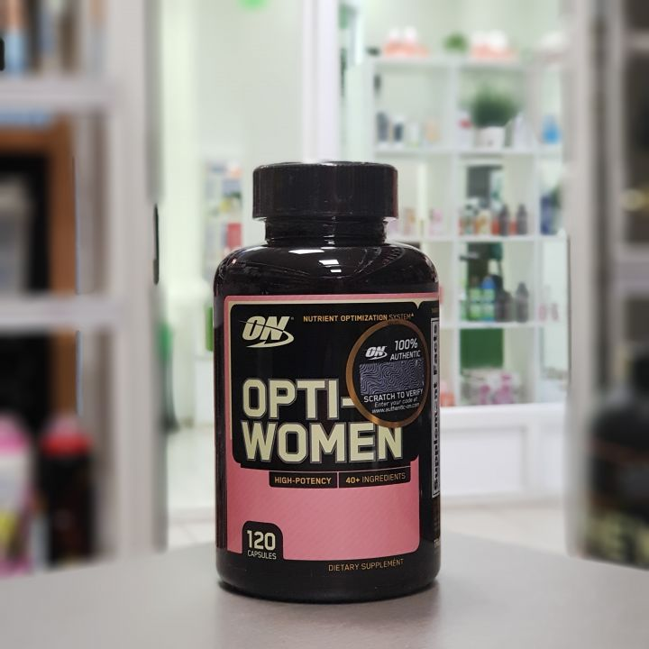 Optimum Nutrition - Opti-women (120 капс.)