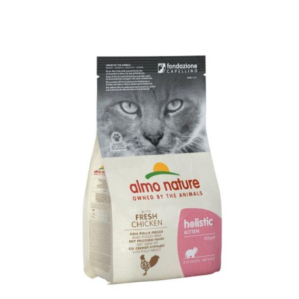Корм сухой Almo nature  для котят с курицей и рисом 12кг.